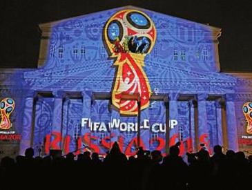 世界杯揭幕战大胜后带着棕熊游街 俄罗斯战斗民族惹不起