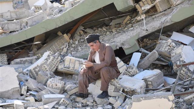 两伊边境地区发生7级以上强震 伤情严重