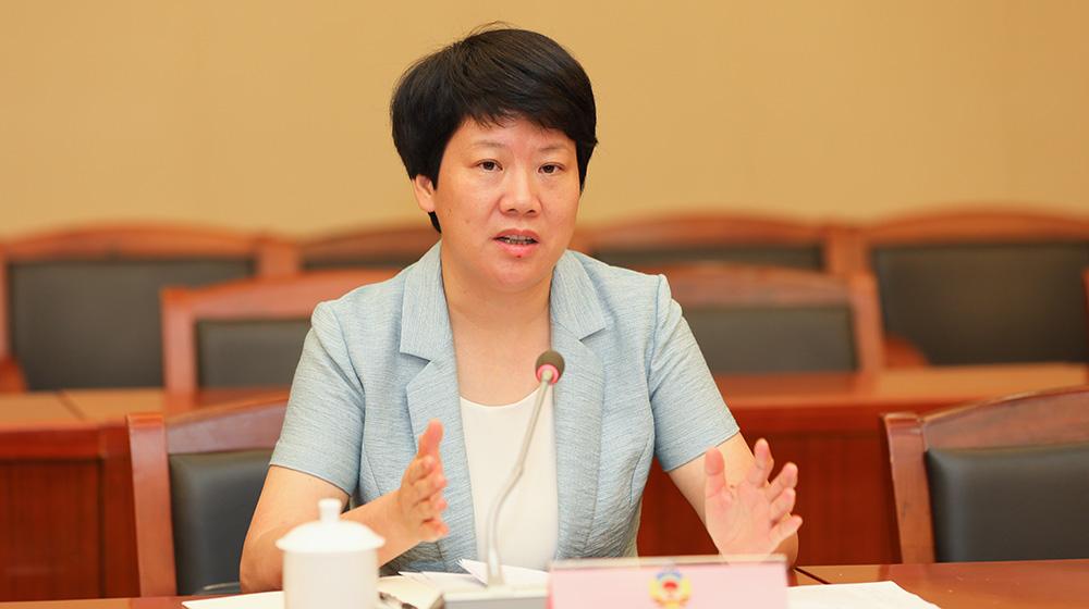 7月24日,金华市副市长陶叶萍在金华召开的协办调研座谈会上介绍金华市整治进展