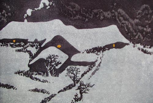 雪花飘飘-美术频道-浙江在线图片