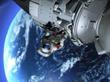 太空行走模拟动画