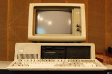 浙江省报界的第一台电脑