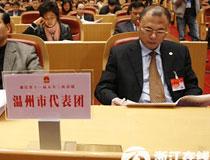 温州代表团听取报告