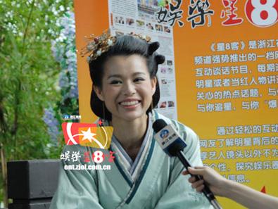 专访TVB花旦胡杏儿 谈起黄宗泽很开心