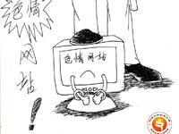 严厉打击色情网站(章萍萍)