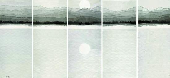 西湖十景 作画记