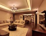 200方户型的客厅样板房