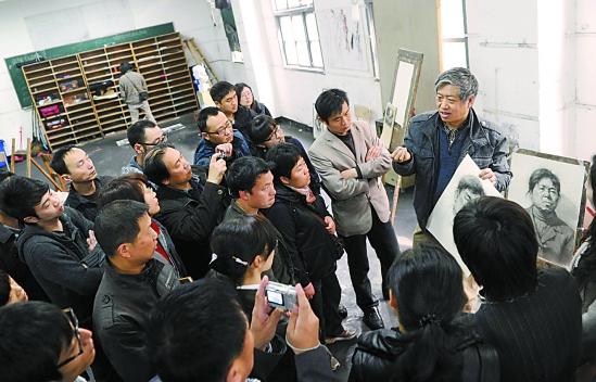 中国美术学院教授吴宪生,教授高照,副教授刘晓东,以及在考艺培训领域图片