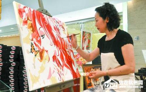 """德信·中外公寓""""笔尖的优雅--数字油画DIY""""活动本周日推出"""