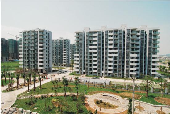 瑶溪住宅区一期完工