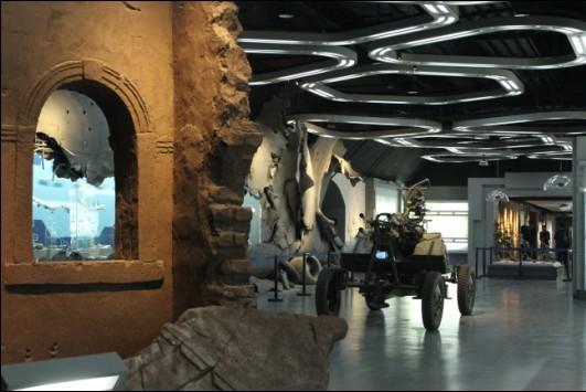中国防空博览园落成镇海 360°环幕影院全国第一