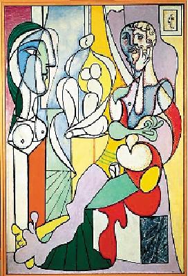 毕加索真迹作品,其中包含了毕加索一生艺术发展中各时期最具高清图片