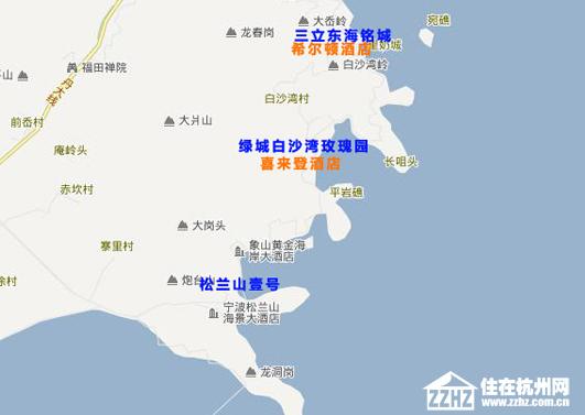 象山:向南延伸向海发展 绿城拉动品质及房价-住在杭州图片