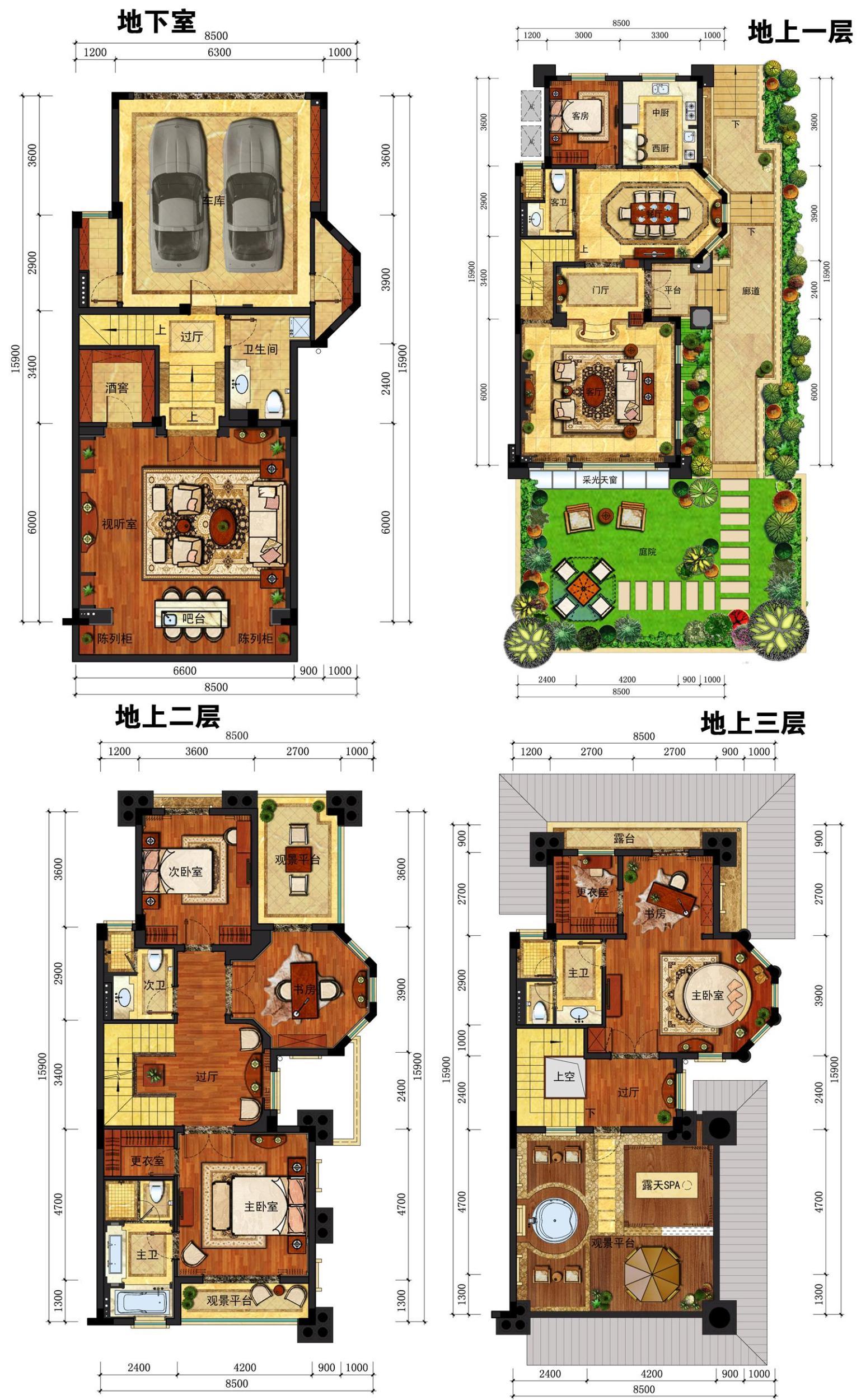 分析图中d1这样的户型?帮忙评价一下这样的户型别墅在哪儿花园五价格保利利弊期成都图片