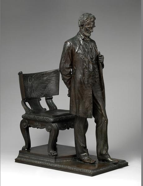 Saint-Gaudens的《林肯像》  纽约大都会艺术博物馆收购了...