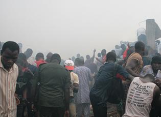 尼日利亚一架客机坠毁至少193人遇难