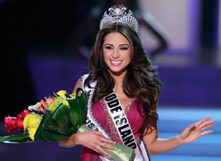 2012美国小姐选美冠军出炉