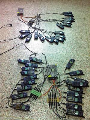 【铁算盘四肖中特期期准免费公开资料】骗子用40多部手机同时拨号 拨爆了一座信号基站