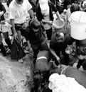 传言温岭山泉水包治百病 有人排队10小时为取水