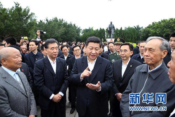 习近平在广东考察时强调:做到改革不停顿开放不止步