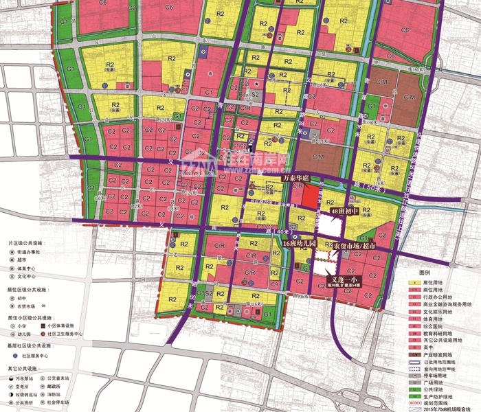 大江东新城义蓬发展规划图-学区概念引发江东新城居住价值再定义