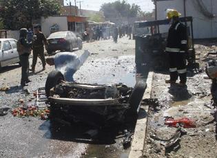 巴格达发生系列爆炸袭击