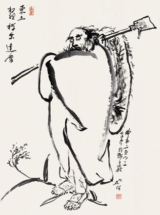 【禅画——圆霖大师圆寂五周年纪念展】 - 無爲齋閑話 - 無爲齋閑話