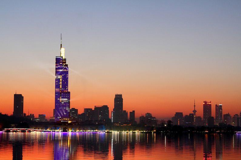 南京绿地核心--紫峰大年夜厦