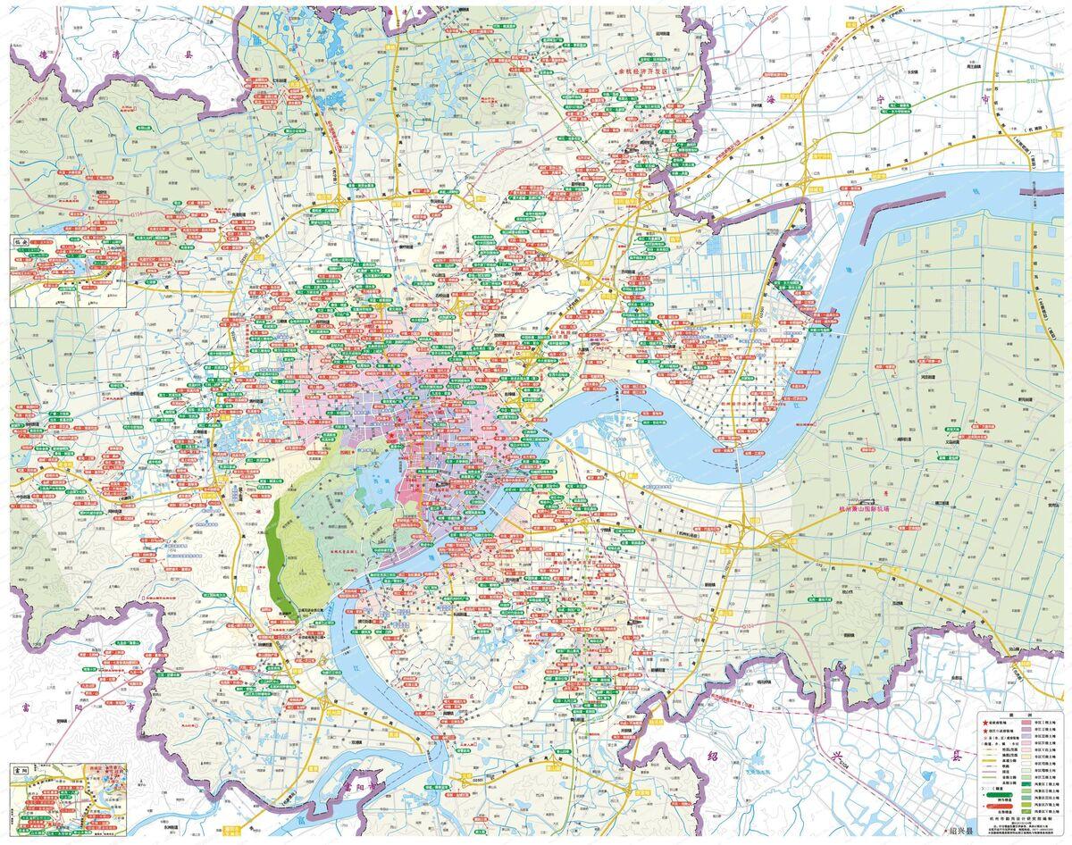 杭州楼市全景地图