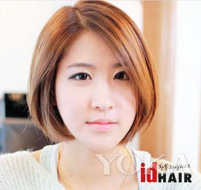 头发细软,特别贴头皮,短发,适合什么样的发型?图片