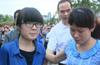 韩亚空难江山中学师生平安到家