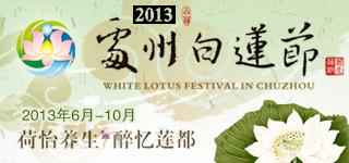 2013处州白莲节