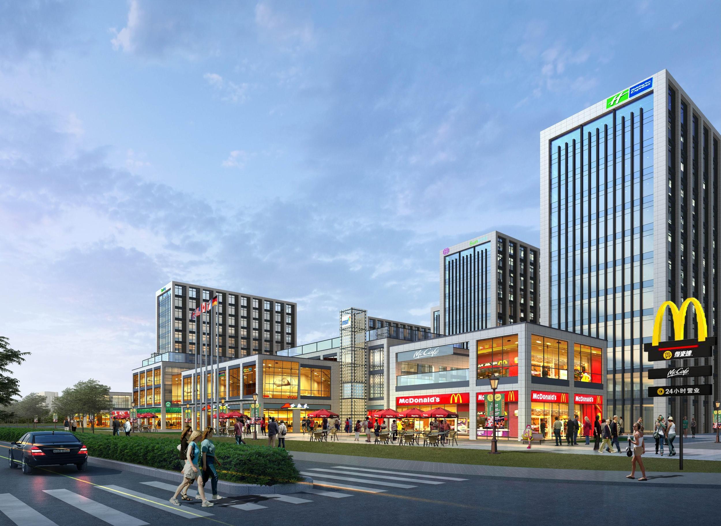 杭城首家麦当劳黄金标准餐厅将入驻赛银国际广场