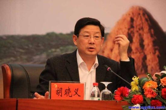 图为人力资源和社会保障部副部长胡晓义。(资料图)