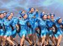 浙江排舞比赛现场