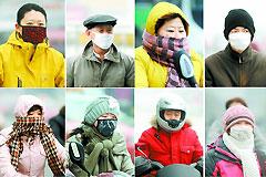 口罩、空气净化器雾霾天捞金