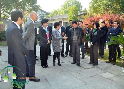 宁夏回族自治区政府主席一行来西湖区调研