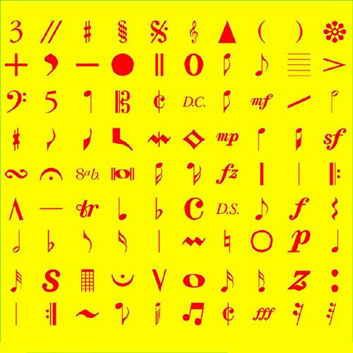 表情符号意思对照表