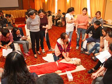 浙江省应急救护师资培训班在湖州开班