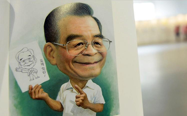 新中国五代领导人动漫像亮相中国漫画漫画节(恐怖带路人国际图片