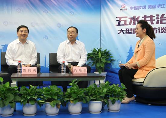 嘉兴湖州市长聊京杭大运河治理