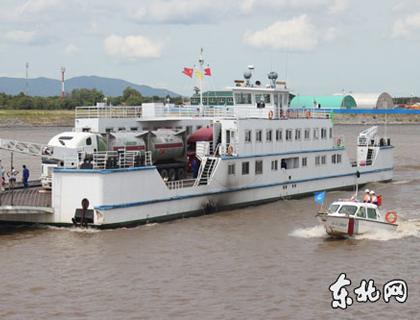 中俄界河首次实现液化石油气水路运输