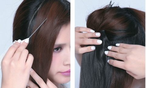 style 1 长发变短发     头发少的妹子长发剪成短发舍不得?图片