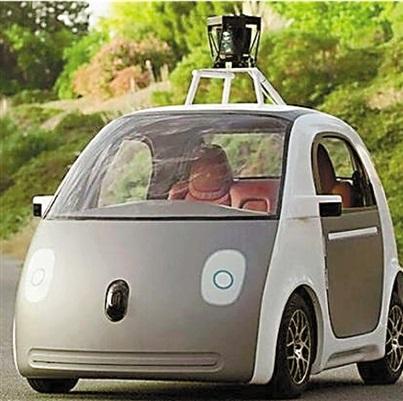 无人驾驶汽车明年英国上路高清图片