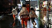 金华昨晚突降暴雨