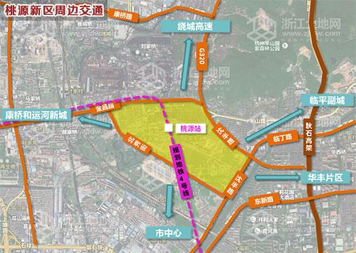 桃源县城规划图,桃源居首府,常德桃源高铁规划图图片
