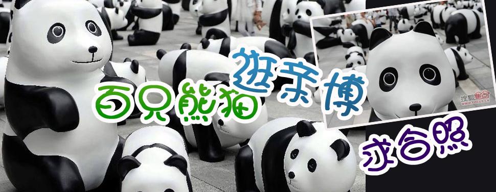 百只熊猫逛亲博