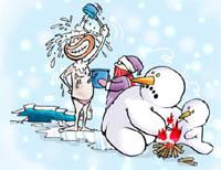 冬泳要科学 隐患要提防