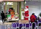 """""""圣诞老人""""低碳出行"""