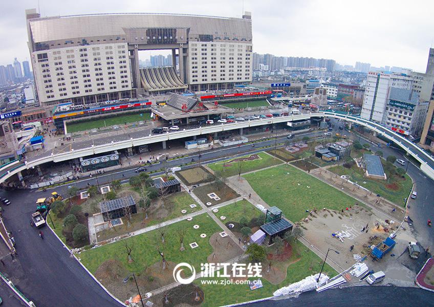 杭州城站15年来首次大修